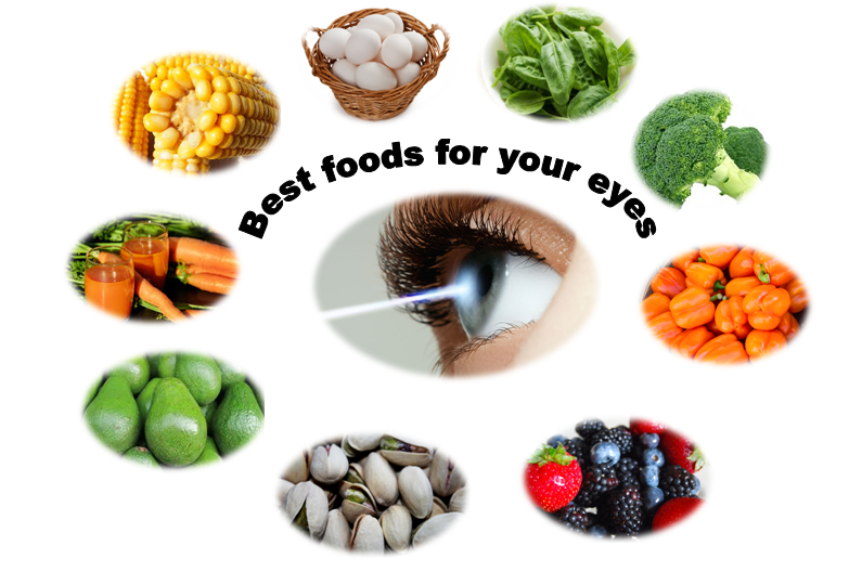 Incorporate these fresh foods into your diet for good eye health